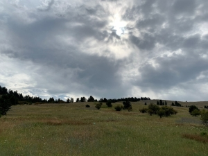 A Stormy Montana Sky
