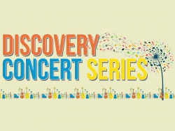 The discovery Concert Series Logo page