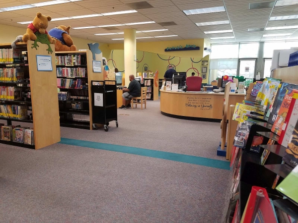 Rancho Bernardo Library Children's Area