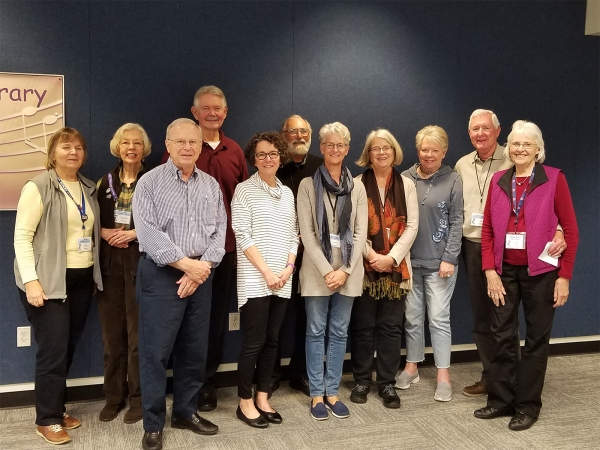 Picture of Many of the Friends 2019 Board of Directors